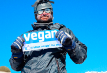 Photo of Vegan mountaineer scales Everest in 100% animal-free kit