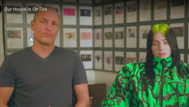 Photo of Billie Eilish and Woody Harrelson team up to video their thoughts on Climate Change