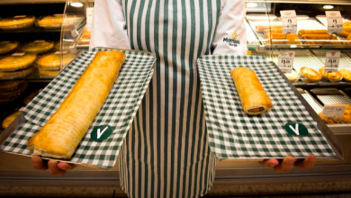 Photo of Morrisons Adds a Footlong Vegan Sausage Roll to its Range