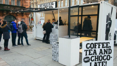 Photo of Oatly's quirky marketing style bringing pop-up free oat milk to major UK cities