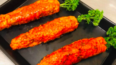 Photo of Welsh butcher goes viral as he jokingly creates carrots made from…pork mince!